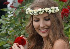 Bild: Haarschmuck, Haarband, Kommunion, Hochzeit, Wiesn, clarigo