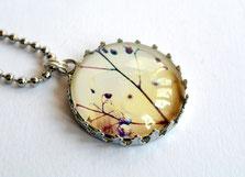 Bild: Schmuck, Halskette, Blätter, clarigo