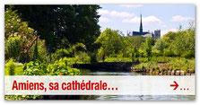 Amiens, la cathédrale, les ortillonages