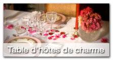 Table d'hôtes et Pic-nique