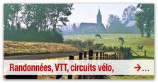 Randonnées, VTT, circuits vélo