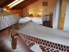 Loft with romantic double bed !