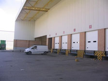 muelle de carga seccional