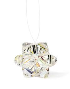 Swarovski Perlen Anhänger kristallklar