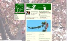 www.rampicante.it - Manutenzioni edili e potatura alberi in corda.