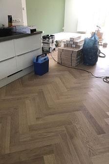 Visgraat vloer Utrecht