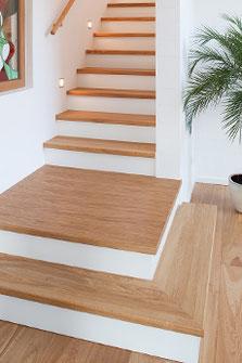 Eiken traprenovatie door Design Vloeren Nijkerk