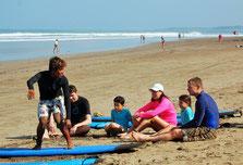 Cours de surf familiale Bali Seminyak