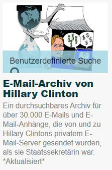 Wikileaks - E-Mail-Archiv von Hillary Clinton