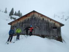 Prêts pour la descente sur Les Cascades