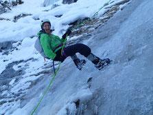 Aurélie s'éclate sur la glace!