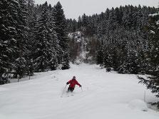 Bon ski pour Pascal coté Gers