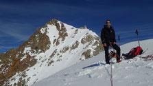 Sur l'Epaule 3336 m du Pic du Glacier Blanc