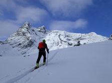 Gilles débouche dans l'alpage