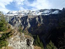 Le versant Buet