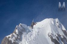 Conditions alpines sur l'arête Sud-Est de la Pointe de Vorlaz