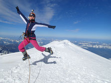 Le saut à 4810 mètres