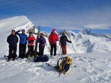 La belle équipe au Col d'Anterne