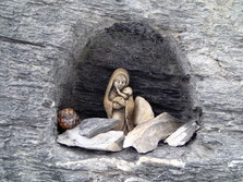 La Vierge du Rocher Blanc