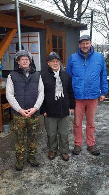 v.l. Uwe Seelaff, Klaus Hübner, Michael Schaper