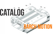 Catalog of barch motion ball screw rails