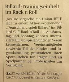 27.04.2016 Bergische Morgenpost