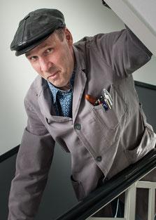Hausmeister Ergie Wäggedawn, der heimliche Chef