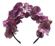 Trachten Haarschmuck, Blumenhaarreif, Blumenkrone, Blumenhaarband