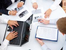 Zielgerichtete Umsetzung der Projekte im Team