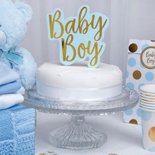 decoration gateau baby shower -