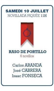 Raso de Portillo Carlos Aranda José Cabrera Isaac Fonseca