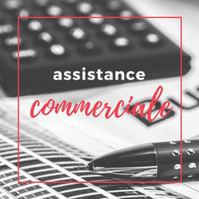 assistance commerciale, devis, facturation, impayés, tableau de bord