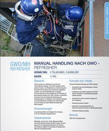 GWO/MH Refresher, Vorschau