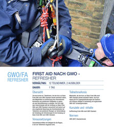 GWO/FA Refresher Kurs Capital Safety