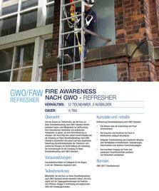 GWO/FAW Refresher, Vorschau