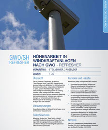 GWO/SH Refresher Kurs Capital Safety