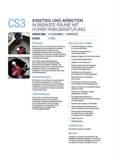 CS 3 Kurs Capital Safety