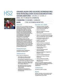HS2 Kurs Höhensicherheitstraining Capital Safety