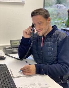 Klaus Knochel: Standortleitung/ Kundenservice