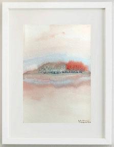 SENZA TITOLO, 2000, Acquerello su cartoncino, 20 x 30 cm