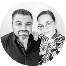 Team Photo Umair und Ricarda