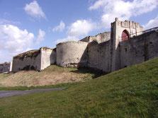 façade ouest, château de Picquigny