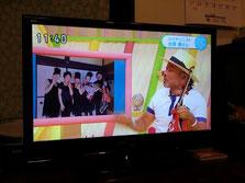 古澤巌さんの出演されたテレビ(さらさらサラダ)で紹介していただきました。