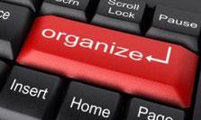 Aan de slag. Organize