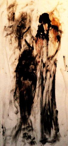 Acryl auf Leinwand, 100x50, 2014