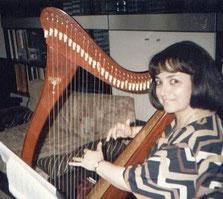 Nehama REUBEN harp solo ISRAEL jerusalem recording Psalms 1998.