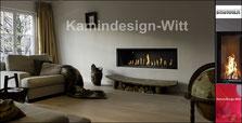 Gas Architektur-Kamin 40x130