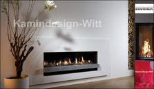 Gas-Kamin Architektur-Kamin 38x170