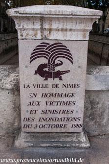 Bild: Nimes, Stadtwappen