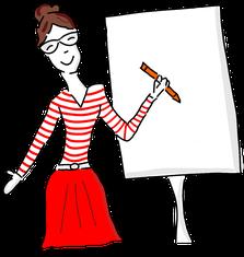 Claudia Karrasch, Seminar, Training, Coaching, Ausbildung, Weiterbildung, Visualisierung, Sketchnotes